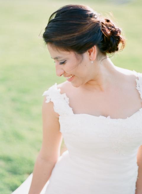 Bride at Marriott Ranch